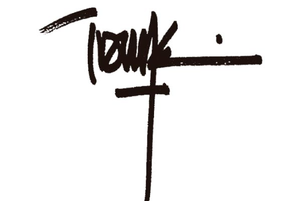 Signature of the Touza architects